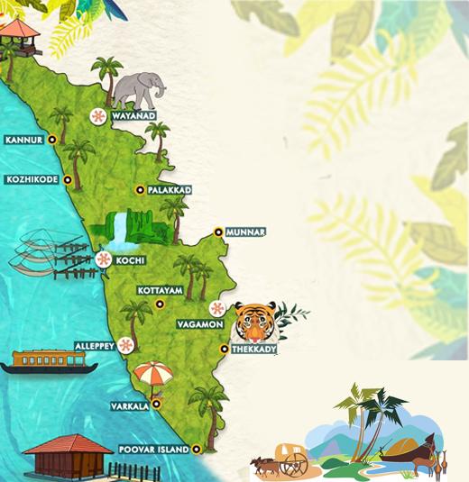 Kerala Map